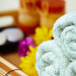 Still life - massage and spa — Stock Photo