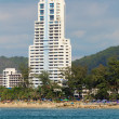 Stock Photo: Large high-rise hotel. Thailand, Phuket, Patong.