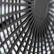 Large industrial fan close-up — Stock Photo #9134320