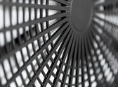 Large industrial fan close-up — Stock Photo