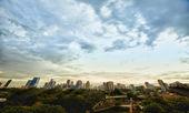 晚上大都会-曼谷 — 图库照片