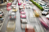 Traffic on the streets. Bangkok — Stock Photo