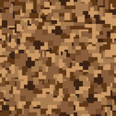 Seamless texture - camouflage — Stock Vector