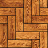 Naturalistic seamless texture - wooden parquet — Stock Vector