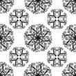 Royalty-Free Stock Imagen vectorial: Vector illustartion of a seamless floral background
