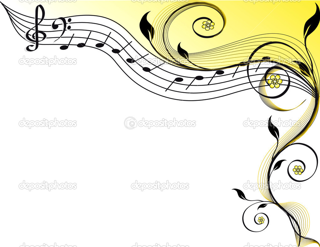 Music theme. vector illustration — Stock Vector #9531707