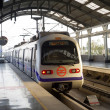 Stock Photo: Delhi Metro