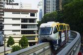 Monorail train — Stockfoto