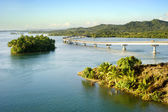 The San Juanico Bridge — Stock Photo