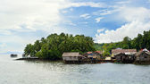 Philippines fishermans village — Stock Photo