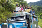 Overflowing Jeepney — Stock Photo