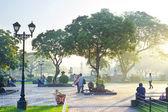 Rizal park — Stockfoto