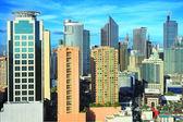 Makati city — Stock Photo