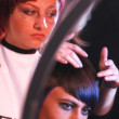 Hairdressing contest — Stock Photo