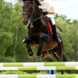 Riding competition - Stock Photo