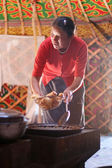 Mulher mongol — Foto Stock