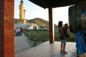 Buddha statue. Ulan Bator . Mongolia — Стоковое фото
