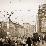 Bucharest street — Stock Photo