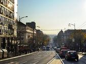 Belgrad street — Stock Photo