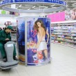 Worker in supermarket — Foto Stock