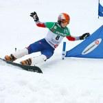 Snowboard Europacup — Stockfoto