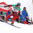 Snowboard European Cup — Stock Photo