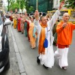 Hare Krishna followers - Stock Photo
