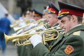 Military orchestra — Stock Photo