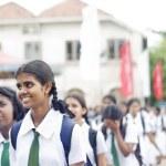 Sri Lankan pupils — Stock Photo
