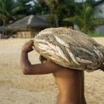Sri Lankan fishermen — Stock Photo #8695776
