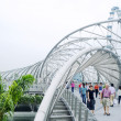 Stock Photo: The Helix Bridge