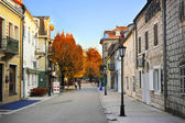 Cetinje street — Stock Photo
