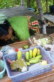 Snabbmat i indonesien — Stockfoto