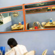 Sri Lankan cheap restaurant — Stock Photo
