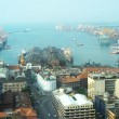 View on Colombo harbor — Stock Photo