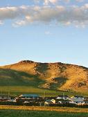 Mongolian village — Stock Photo