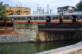 Sri Lankan train — Stock Photo