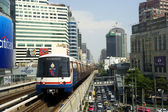 BTS Skytrain — Stock Photo