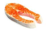 Salmon steak — Foto Stock