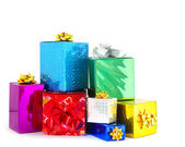Box gifts — Stock Photo