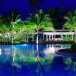 Pool in night — Stock Photo