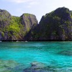 Sea in Krabi Thsiland — Stock Photo