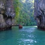 Rocks and sea in Krabi — Stock Photo #9462431