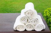 White towel — Stock Photo