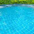 Pool in thailand - Stock Photo