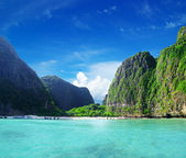 Maya bay Phi phi leh — Stock Photo