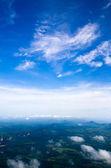 Lucht en de wolken — Stockfoto