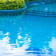 Swimming pool in thailand — Stock Photo