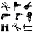 Tools icon set — Stock Vector #10647166