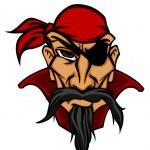 ������, ������: Danger pirate in bandana